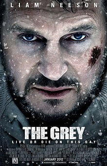 """The Grey is a 2012 American thriller film directed by Joe Carnahan and starring Liam Neeson. It follows a number of men stranded in Alaska after a plane crash, who are forced to survive using little more than their wits as a pack of wolves stalks them. The film is based on the short story """"Ghost Walker"""" by Ian MacKenzie Jeffers, who also co-wrote the screenplay with Carnahan."""