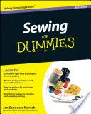 Sewing For Dummies making pillows