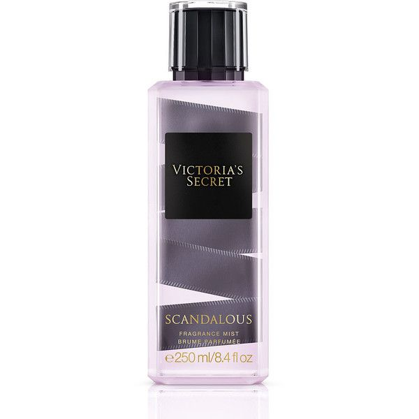 Victoria's Secret Scandalous Fragrance Mist (£20) ❤ liked on Polyvore featuring beauty products, fragrance, victoria's secret, spray perfume, victoria secret fragrances, victoria secret perfume and fruity perfume