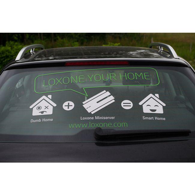 Najlepšie nálepky na Vaše auto! / The best stickers on your car! http://shop.loxone.com/cscz/zadni-nalepka-42cm-217.html