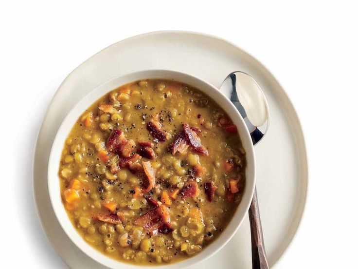 Miso paste, a traditional Japanese ingredient made from fermenting soybeans, enriches this soup with a deep, savory flavor and enhances the creamy texture of the peas. We think it's a must, but you can use an extra 1/2 teaspoon of kosher salt instead. Bacon adds a hearty flavor to the base of the soup, but you can sub the bacon for any cooking oil of your choice for a vegetarian option. With 26 grams of protein, this hearty bowl of soup is sure to keep you full and satisfied. Double the…
