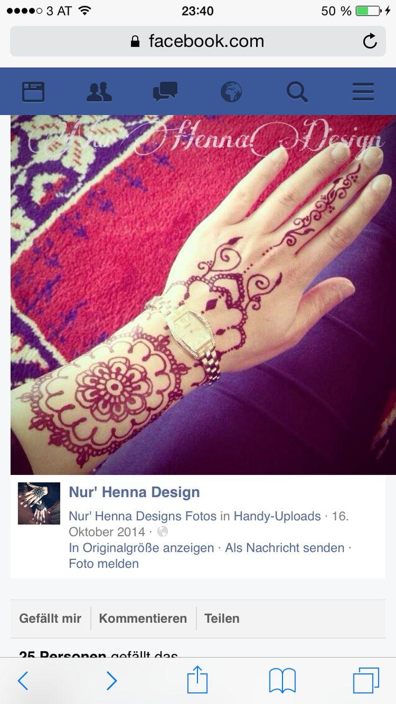 50 intricate henna tattoo designs art and design 50 - Henna Tattoos Hennas