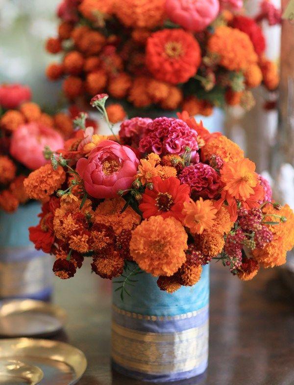 Fifty Shades of Orange {Wedding Inspiration}