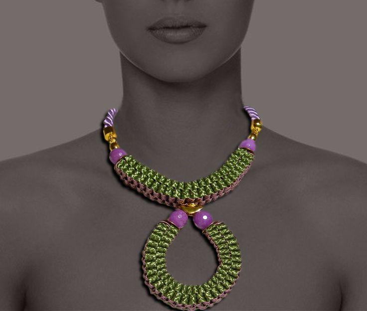 intrecci necklace