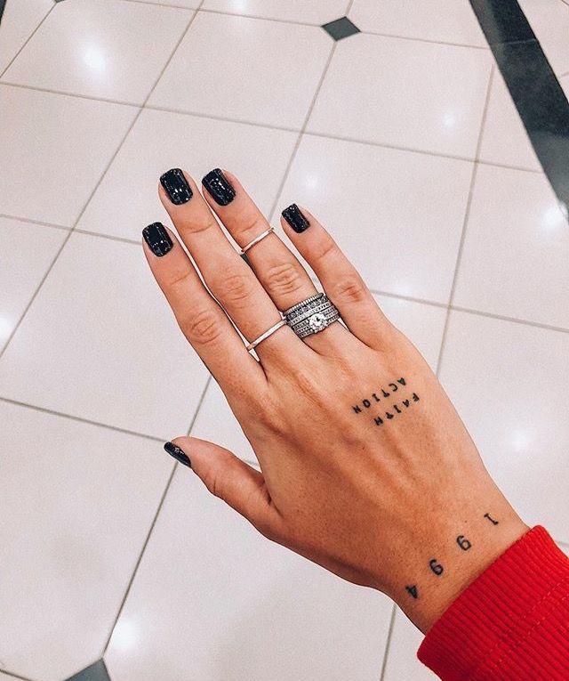 6b90ae0ef 彡always trade lemons for oranges☆彡 @xoxojamm Geburtsdaten Tattoo, Tattoo  Hand