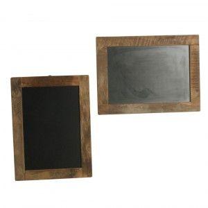 Scrapwood - Blackboard brown