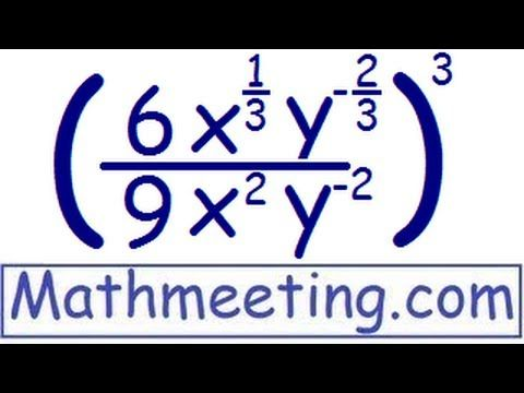 73 best mathematics images on pinterest math mathematics and algebra simplifying exponents harder example fandeluxe Image collections