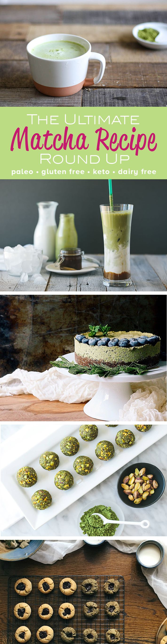Here's the complete round up of the best matcha recipes in the paleo…