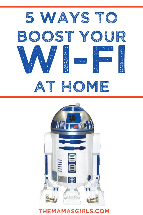 5 Ways To Boost Your Wi-Fi at Home- I NEED this!