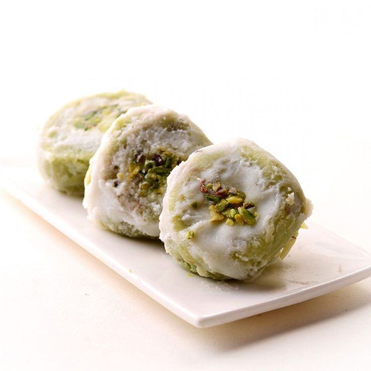 Buy kesar badam pista ghari sweet online at best price in India. We offer pista Ghari is a pure ghee based sweet treat and made from Pistachio, gram flour and milk solid. Remove the sweets out of box and should be kept outside refrigerator.
