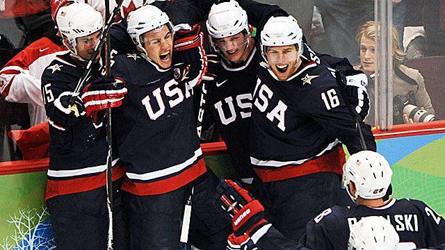 Gonna practice… U-S-A! U-S-A! 2014 Olympic Hockey TV Schedule - CBSSports.com