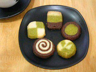 和のアイスボックスクッキー(卵なし)|型にはまったお菓子なお茶の時間