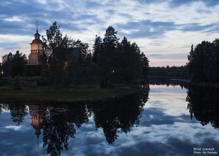 Unesco world heritage site: Petäjävesi old church. ©Visit Jyväskylä Photo: Aki Rantala.