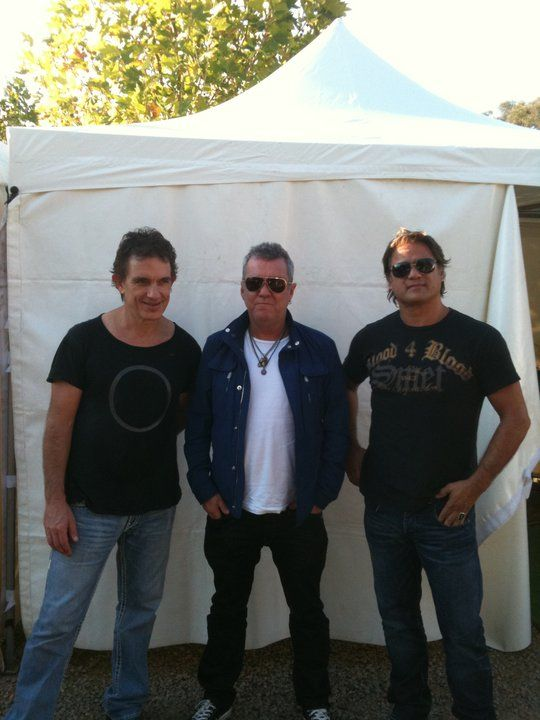 Ian Moss, Jimmy Barnes and Jon stevens