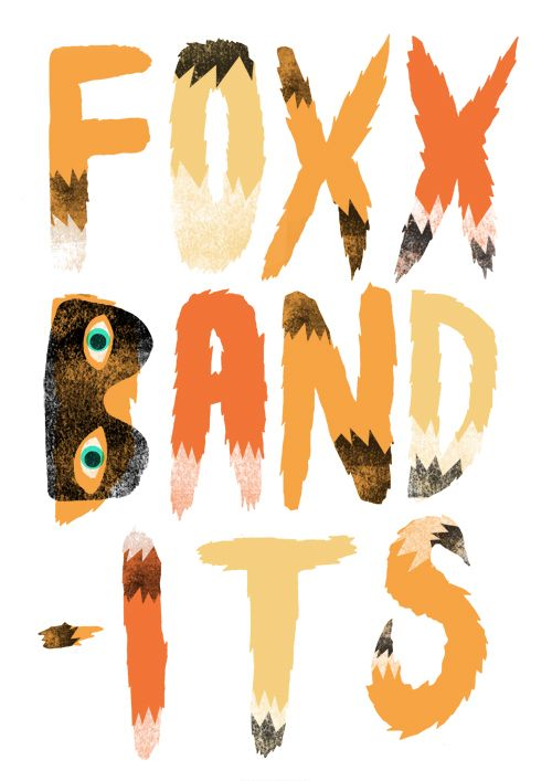logo for Foxx Bandits by Nicholas Stevenson