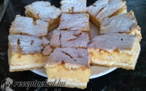 Krémes-túros pite recept fotóval