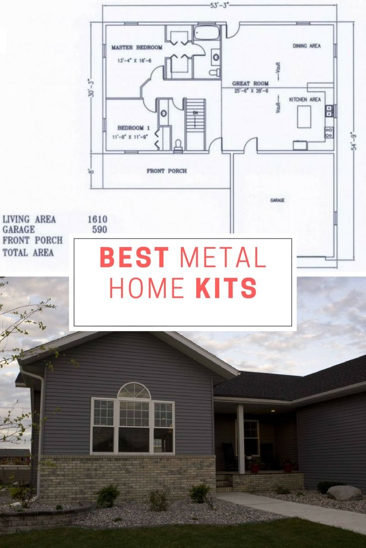Best Metal Home Kits We Managed To Find | Pinterest | Steel frame ...
