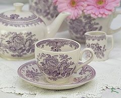 1000 ideas about purple tea cups on pinterest tea cups. Black Bedroom Furniture Sets. Home Design Ideas