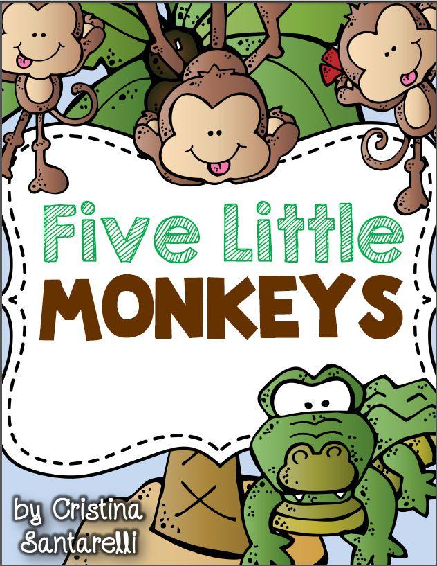 5 Little Monkeys FREEBIE!