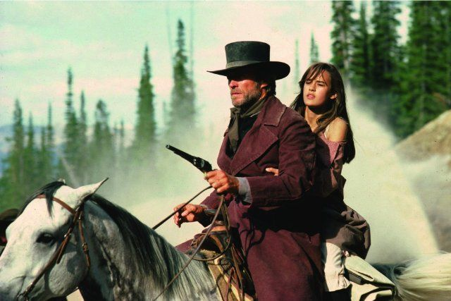 Still of Clint Eastwood and Sydney Penny in Pale Rider