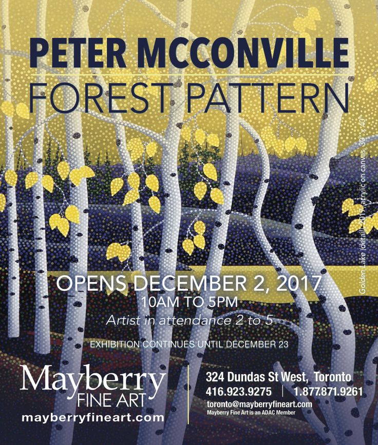December Exhibition at Mayberry Fine Art in Toronto_ New paintings by Peter McConville