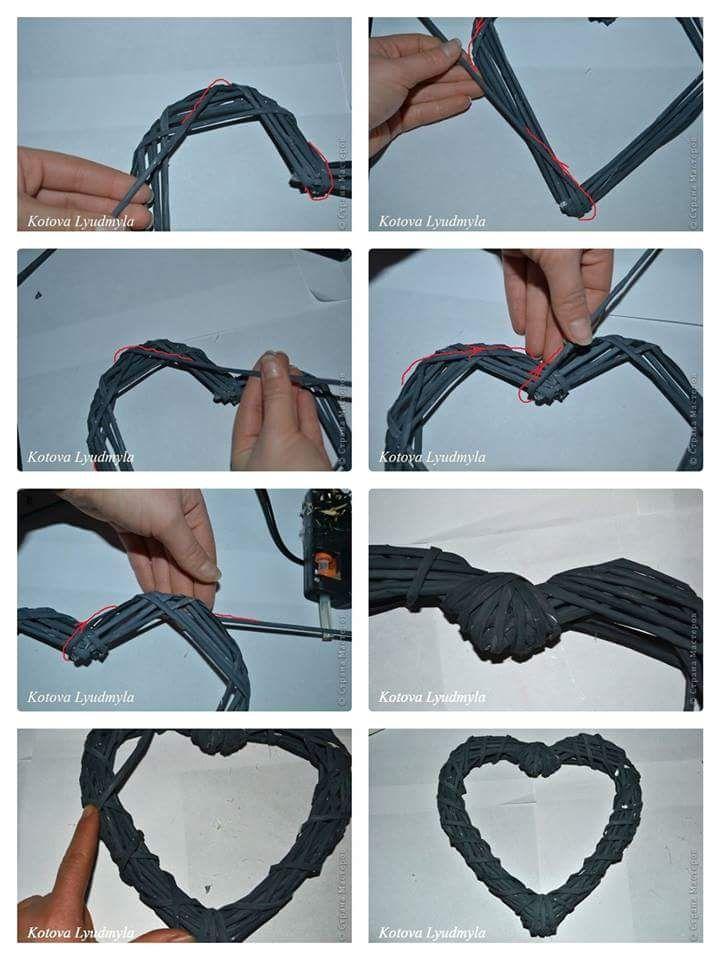 pletené srdce z netu