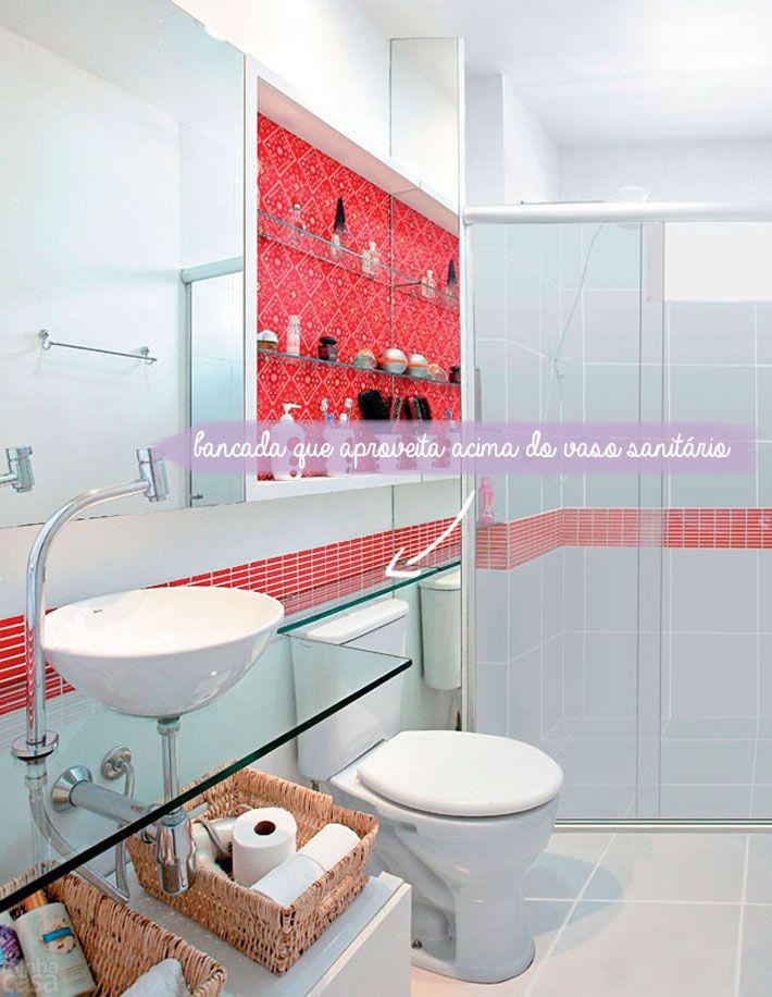 Love the glass shelf!