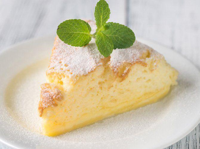 Rezept: Grießbrei-Kuchen mit griechischem Joghurt