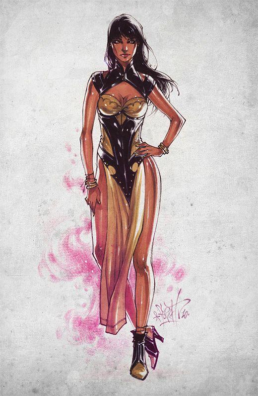 Character Design Mortal Kombat : Best images about tanya mortal kombat on pinterest