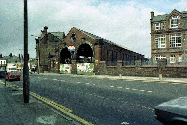 Old tram sheds green Lane deposit and St Anne's school prescot road old swan.