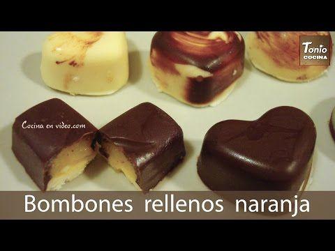 Bombones caseros rellenos - Homemade filled Chocolates -#TonioCocina 67 - YouTube