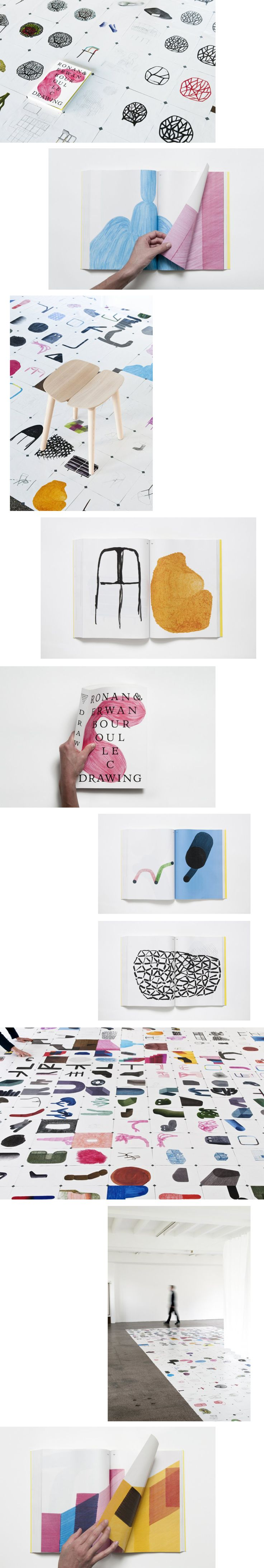 RONAN + ERWAN BOUROULLEC - launched their new book: 'Drawing'. #design #drawings #sketches