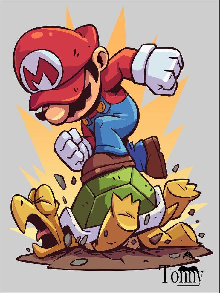 Mario Ilustration