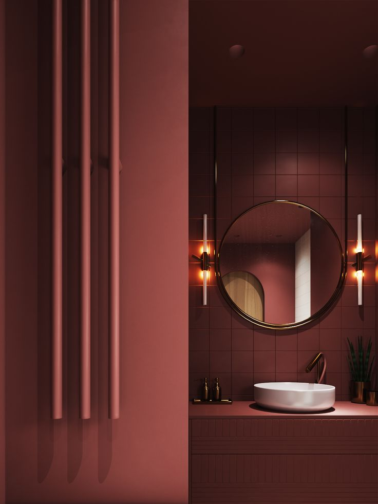 "Check out this @Behance project: """"Velvet"" bathroom"" https://www.behance.net/gallery/58908633/Velvet-bathroom"