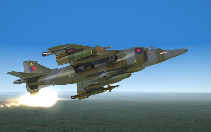 Harrier GR.3 (82) Falklands War Modified