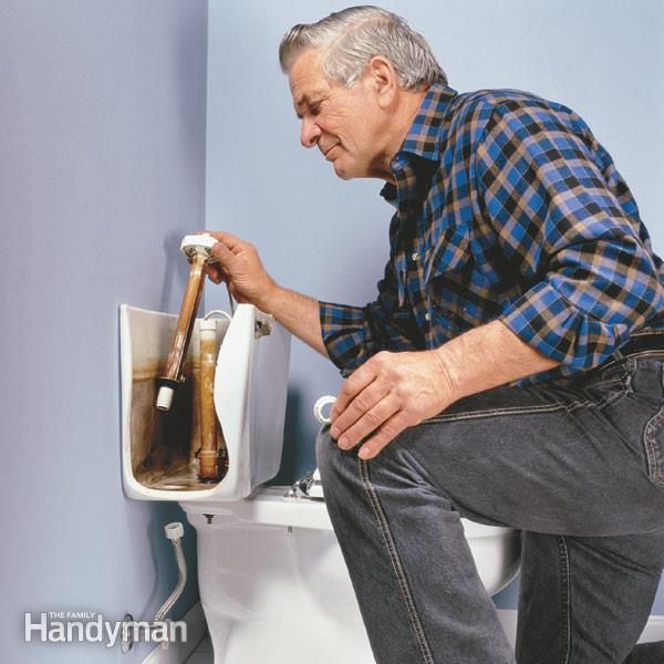 how to stop your toilet from running all the time