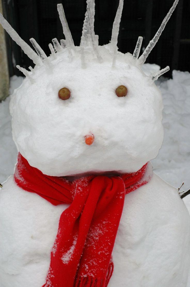 Snowman FAIL! Snow too soft? - YouTube  Snowman Too Much Snow