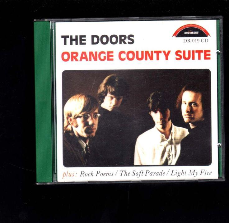 The Doors Orange County Suite CD with some of my favorite Doors songs #rockisdead #