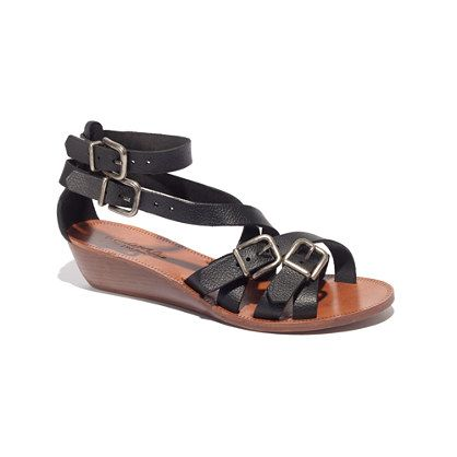 The Whistlestop Sandal - very cute!!  Covers up my boney feet and I prefer a little bit of a heel in my sandals!  Would love it if they went on sale sometime soon!!
