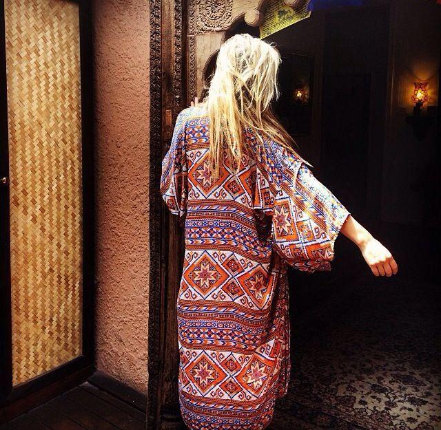 Kimono by Arnhem Clothing. Gorgeous.
