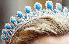Turquoise tiara of Saxe-Coburg-Gotha