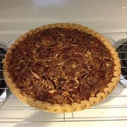 Milk Chocolate Pecan Pie Allrecipes.com