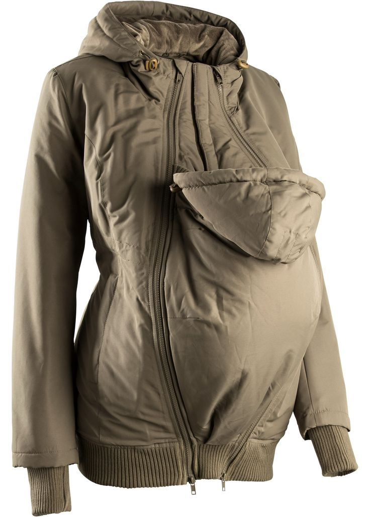 Umstandsjacke mit zwei Einsätzen khakigrün - bpc bonprix collection jetzt im Online Shop von bonprix.de ab € 69,99 bestellen. Diese gefütterte Winterjacke ...