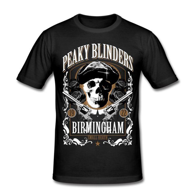 PEAKY BLINDERS T-SHIRT (men's) Men's Slim Fit T-Shirt - black