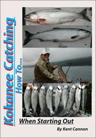 Kokanee Catching.....How to: when starting out...