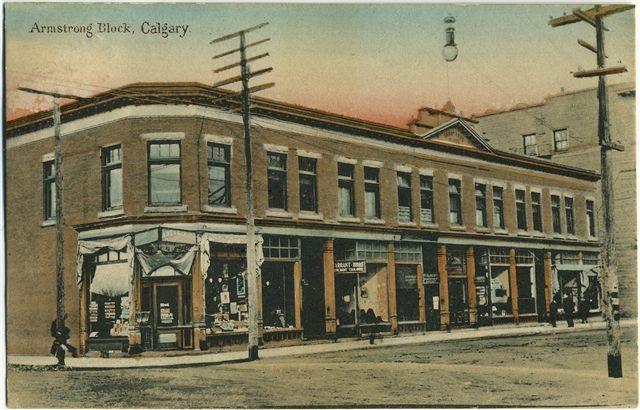 Armstrong Block, Calgary