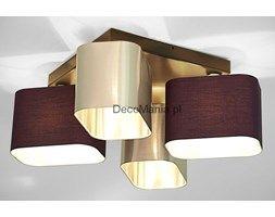 Lampa sufitowa - Wero Design - Plafon Benito - 001 Mix: Fiolet / Srebrny