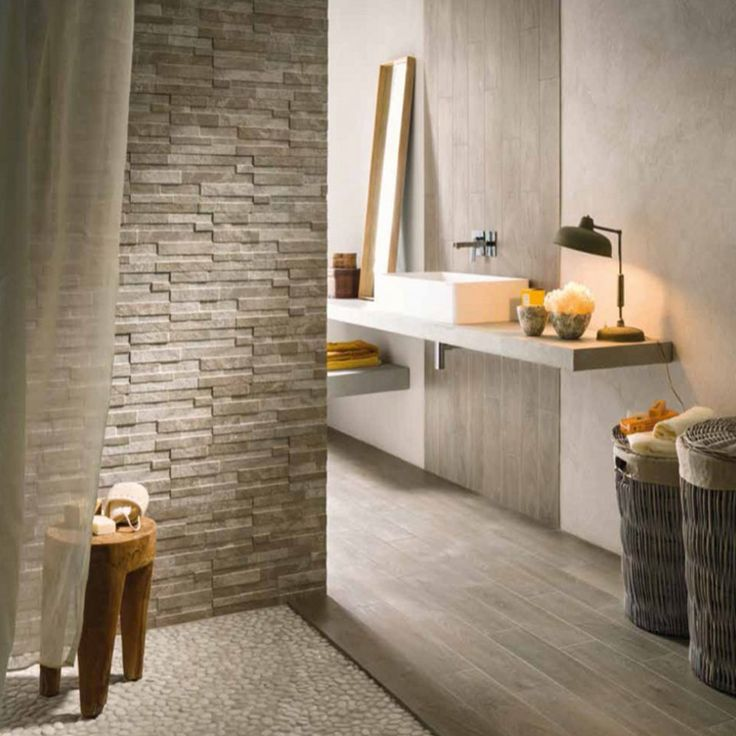 Bayker Walls Taupe (Brown)16x42cm Wall Tile Complete