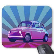European Car Mouse Pad