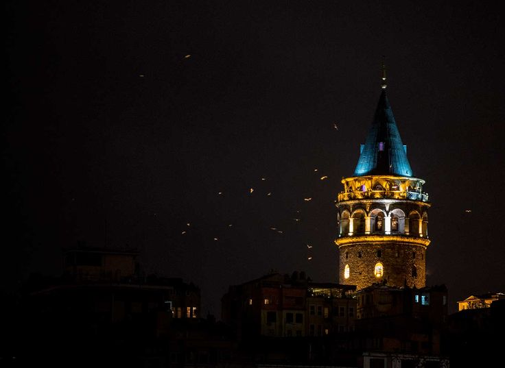 Galata Tower Istanbul Photo by: Seref Ozen